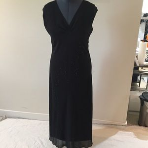 Black Formal Gown. Size 14